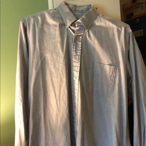 Abercrombie & Fitch Fine Pinpoint Button Down